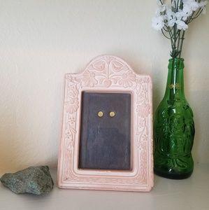 Vintage Pastel Pink Picture Frame